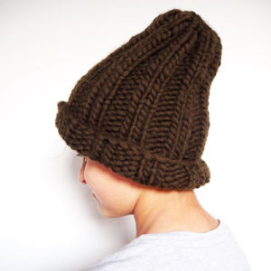 Knitted Beanie for Beginners